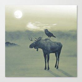 Spirit of the Raven Canvas Print
