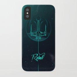 Rebel line iPhone Case