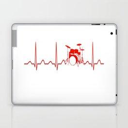 DRUMS HEARTBEAT Laptop & iPad Skin