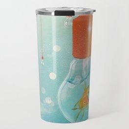 Ideas and Goldfish ... Travel Mug