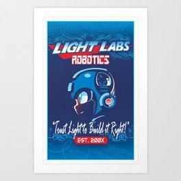 Light Labs Art Print