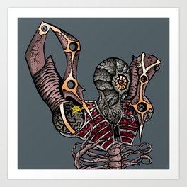 Steampunk Monster Art Print