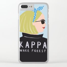 Kappa Clear iPhone Case