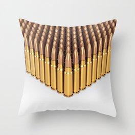Ammunition Throw Pillow