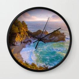 Magical Cove, Big Sur II Wall Clock