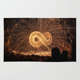 Infinite Fire Spin Rug