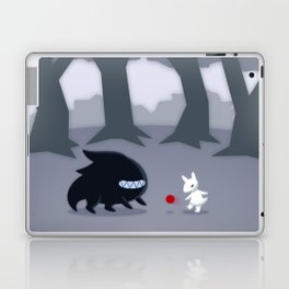 With a Friend Laptop & iPad Skin