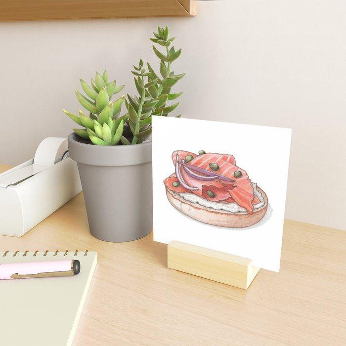 Breakfast & Brunch: Lox Mini Art Print
