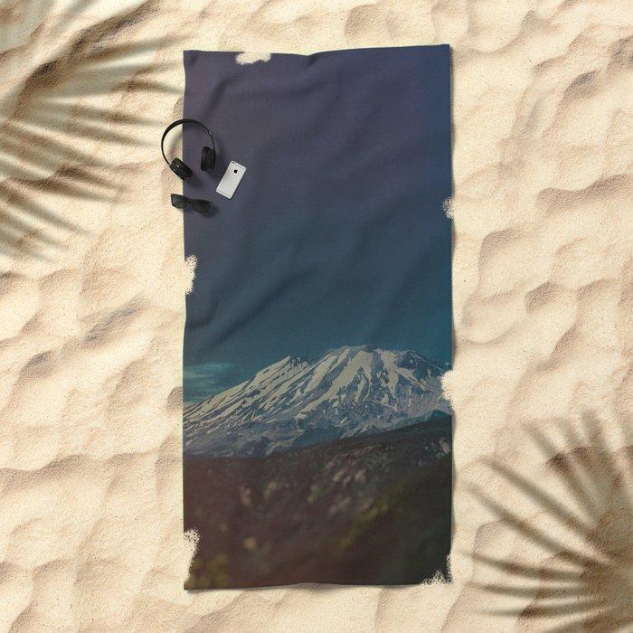Mount Rainier Beach Towel