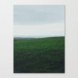 green of Ireland Canvas Print