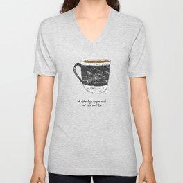 I Like Big Cups Unisex V-Neck