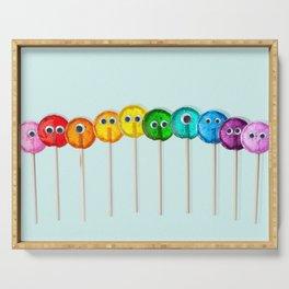 Lollipop Rainbow Serving Tray