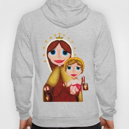 Our Lady of Mount Carmel Hoody