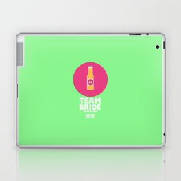 Team bride Barcelona 2017 Henparty T-Shirt Da77p Laptop & iPad Skin