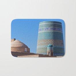 Ichan Qala - Khiva, Uzbekistan Bath Mat