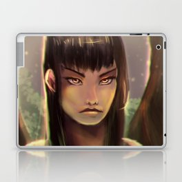 Girl in the Woods Laptop & iPad Skin