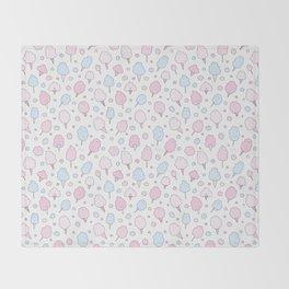Cotton Candy Club Throw Blanket