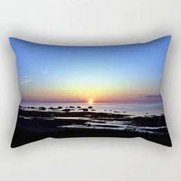 Wonderful Sunset Seascape Rectangular Pillow