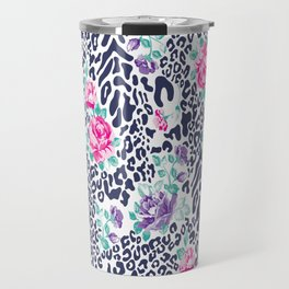 floral animal Travel Mug