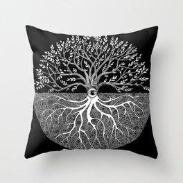 Druid Tree of Life Throw Pillow