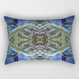Ceiling Tile (Abstract) Rectangular Pillow