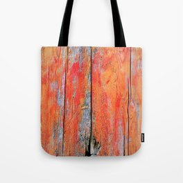 Weathered Wood Shutter rustic decor Tote Bag