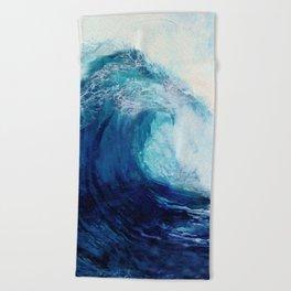 Waves II Beach Towel