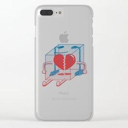 Little Box of Broken Heart Clear iPhone Case