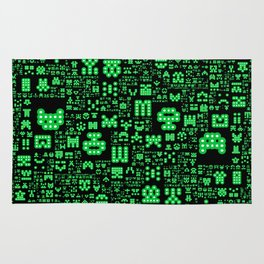 Hello Invaders Rug