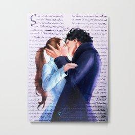 Sherlolly kiss Metal Print