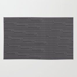 """grey """"t""""rs Rug"""
