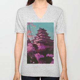Hasetsu Castle Unisex V-Neck