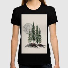 Full Moon Rising T-shirt