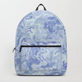 Light Denim Marble Backpack
