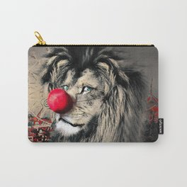 Circus Lion Clown Carry-All Pouch