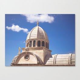St. Peter's Cathedral, Šibenik, Croatia Canvas Print