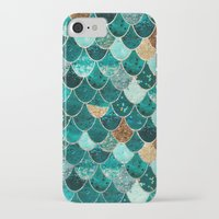 fish iPhone & iPod Cases featuring REALLY MERMAID by Monika Strigel®
