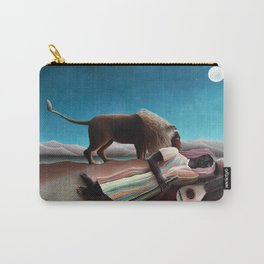 Henri Rousseau The Sleeping Gypsy Carry-All Pouch