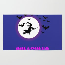Full Moon Witch Rug