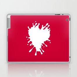 Splatter Heart Laptop & iPad Skin