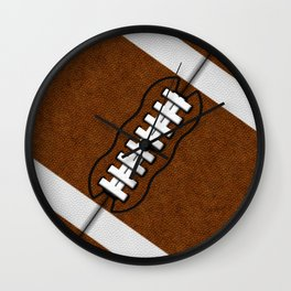 Fantasy Football Super Fan Touch Down Wall Clock