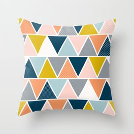 Triangulum Retreat Throw Pillow