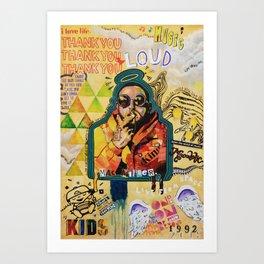 Remember Mac Miller Art Print