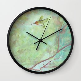 Forest Treasures Part B Wall Clock