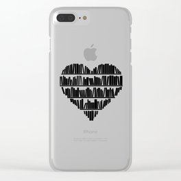 Book Lover II Clear iPhone Case