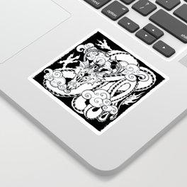 Korean Dragon Sticker