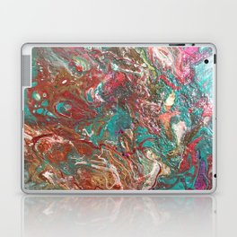 Copper and Turquoise Laptop & iPad Skin