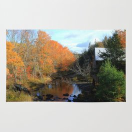 Autumn Reflections Grist Mill Rug