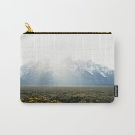 Sunset Behind the Tetons Carry-All Pouch