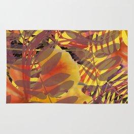 Autumn Tropical Vibe Rug